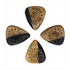 Timber Tones Grip Malay Ebony 4 Guitar Picks